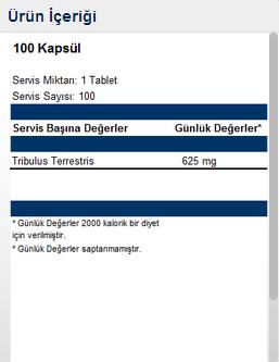 Hardline Tribulus Terrestris 100 Kapsül   Hardline Özel Ürünler   Supplementler.com.png